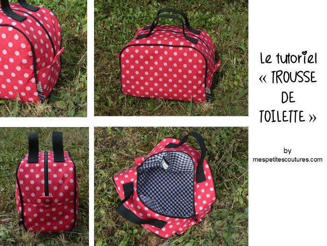 Tuto couture facile trousse maquillage