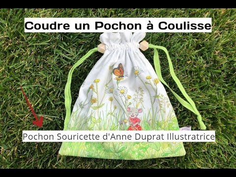 Tuto couture pochon youtube